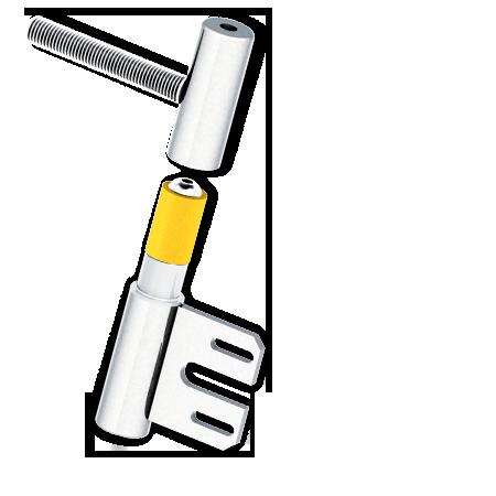 Stahlzarge türblatt  S215NI Stahlzarge 2 teilig - APTUS - Das Türband der neuen Generation